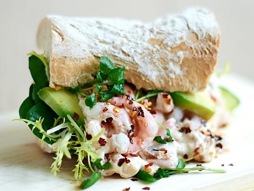 """K-Salat Sverige<br/> <span style=""""font-size:13px;"""">Anretning og fotografering af nye skaldyrssalater</span>"""