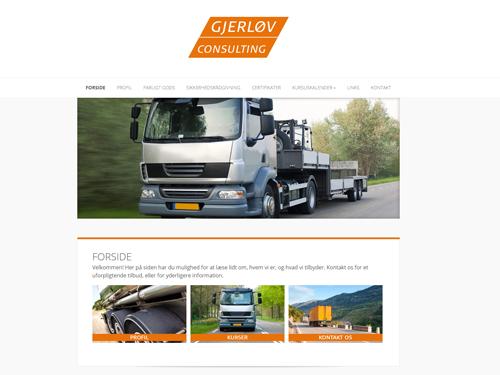 "Gjerløv Consulting<br /><span style=""font-size:13px;"">Webside: www.gjerlov.dk</span>"