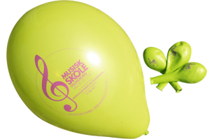 Reklameballoner, balloner med logotryk, design balloner, messegaver