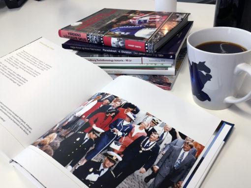 """Bøger<br/> <span style=""""font-size:13px;"""">Layout og trykning af bøger</span>"""
