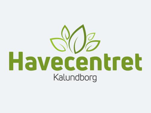 "Havecentret Kalundborg<br/> <span style=""font-size:13px;"">Logo, skiltning, kundekort m.v.</span>"